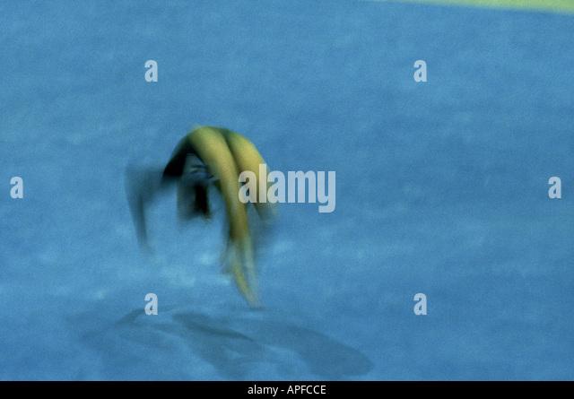 Sport Gymnastics Floor - Stock Image