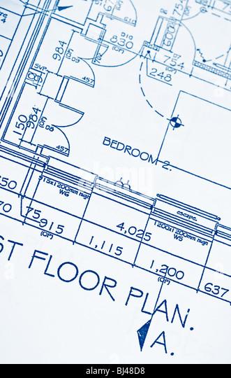 Floor plans - Stock-Bilder