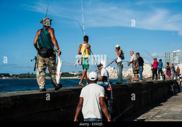 Viva cuba stock photos viva cuba stock images alamy for Fishing in cuba