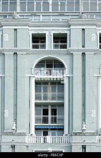Georgien, Batumi, Architektur an der Strandpromenade Batumi Boulevard - Stock-Bilder