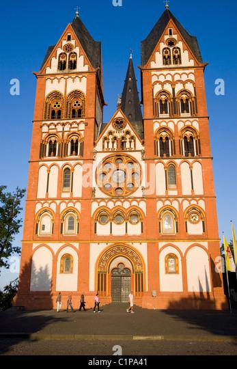 Germany, Limburg, Saint George's Cathedral - Stock Image