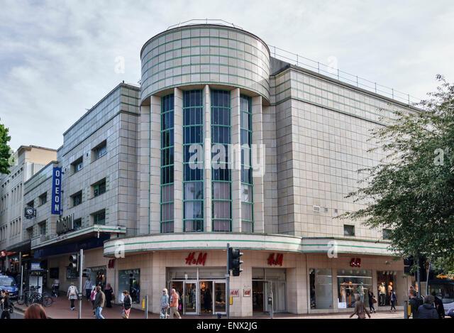Broadmead, Bristol, UK. The Odeon Cinema, Built in 1939 - Stock Image