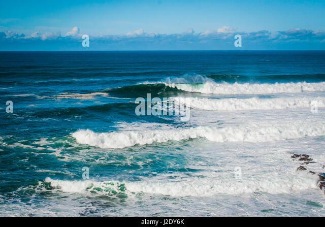 SurfRollingIn_1782   - Stock Image