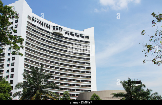 Furama Riverfront Hotel, Singapore. - Stock Image
