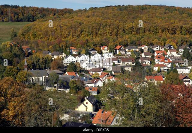 Engenhahn, Ort, Dorf, Niedernhausen,  Rheingau-Taunus-Kreis, - Stock-Bilder