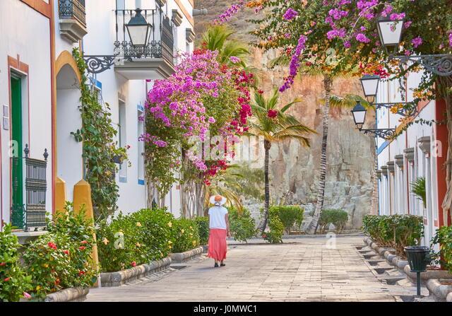 Puerto de Mogan, Canary Islands, Gran Canaria, Spain - Stock-Bilder