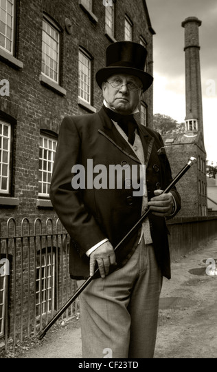 The Victorian industrial mill Owner, Styal , close to Manchester, Cheshire, England, United Kingdom - Stock Image