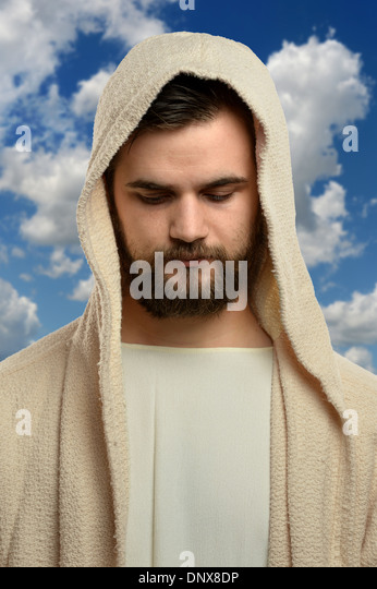 Vertical Portrait Of Pretty 14 Year Old Girl Stock Image: Vertical Portrait Jesus Christ Stock Photos & Vertical