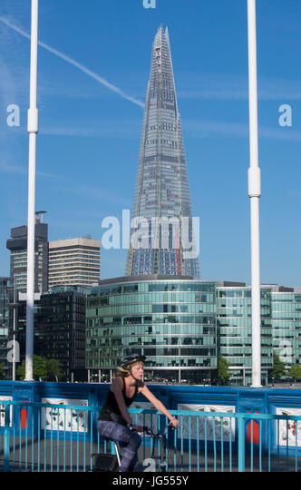 The Shard in London, England, UK - Stock Image