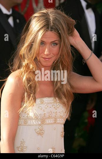 JENNIFER ANISTON US TV and film actress at 2004 Emmy Awards. Photo Jeffrey Mayer - Stock-Bilder