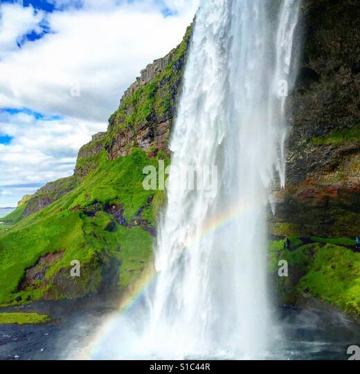 Iceland waterfall - Stock-Bilder
