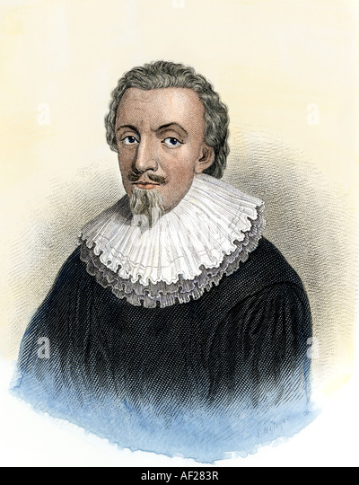 George Calvert First Baron Baltimore English colonizer of Newfoundland and Maryland - Stock Image