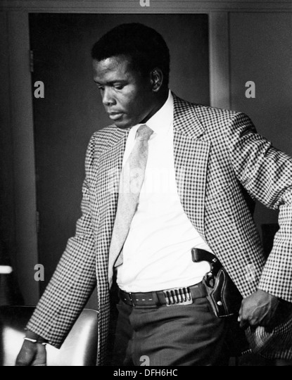 Sidney Poitier, on-set Portrait, 1967 - Stock Image