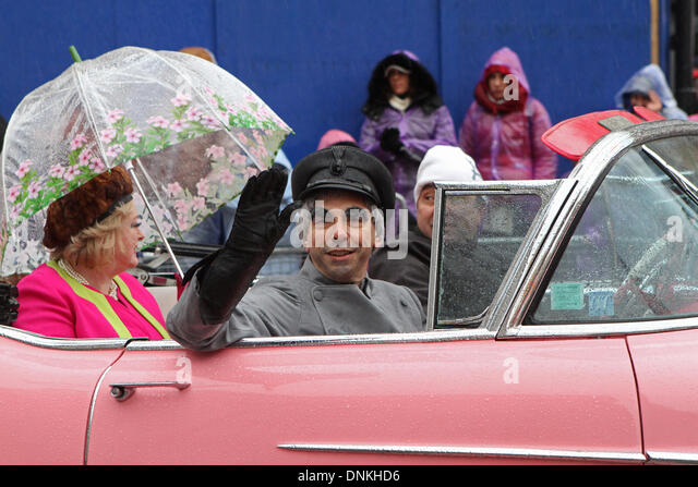 London,UK,1st January 2014,Lady Penelope from thunderbirds at the London's New Year's Day Parade 2014 Credit: - Stock Image