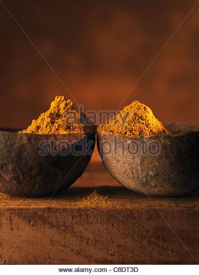 Madras curry powder - Stock-Bilder