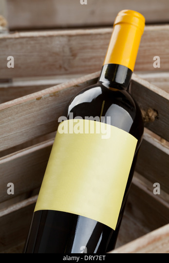 Wine box wooden stock photos wine box wooden stock for Empty wine crates