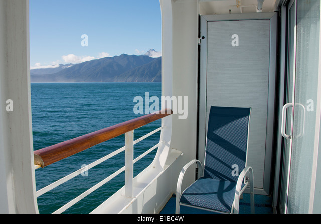 Ship balcony view stock photos ship balcony view stock for Cruise ship balcony view