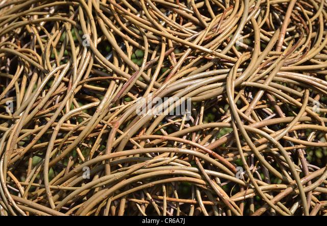 Wicker background - Stock-Bilder