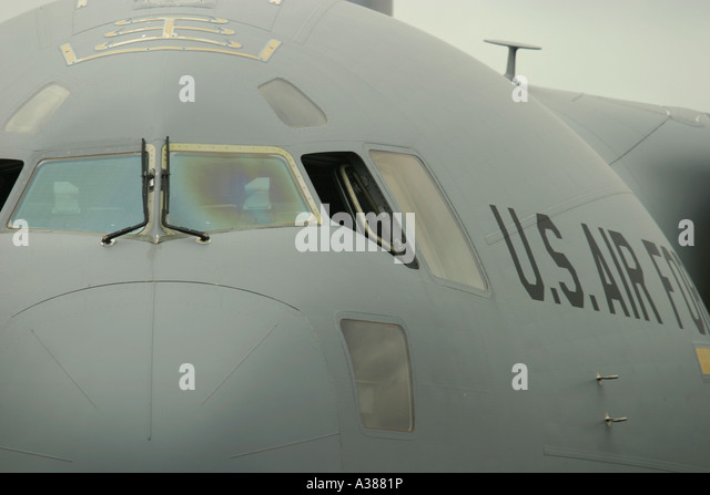 Boeing C-17 Globemaster III - Stock Image