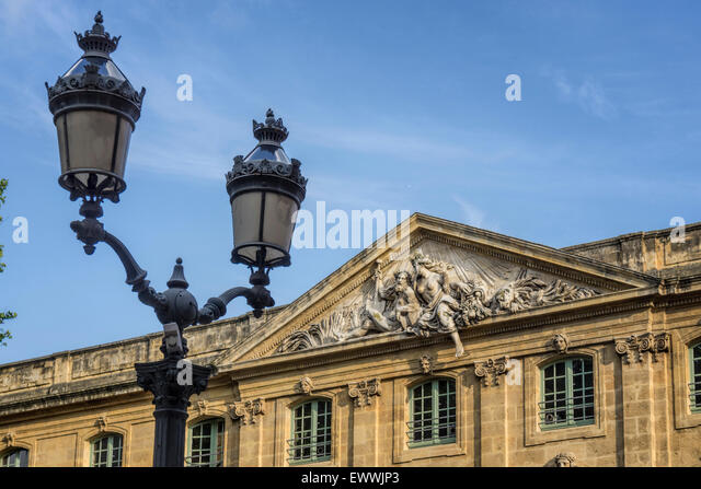 Male Rhone and female Durance at Corn hall, Aix en Provence, France - Stock Image