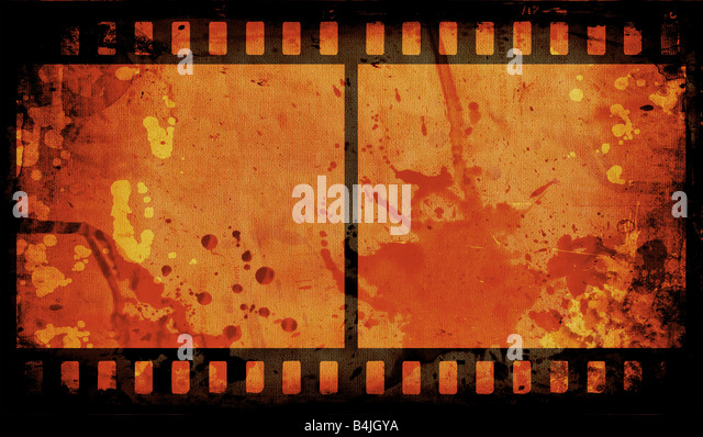 Grunge style film strip background - Stock-Bilder