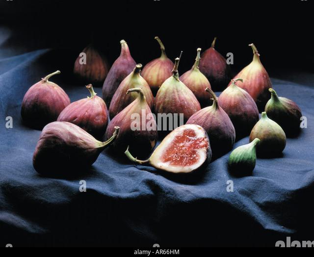 figs on canvas - Stock-Bilder