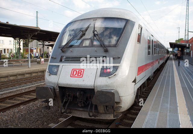 Intercity passenger train Solingen Germany - Stock-Bilder