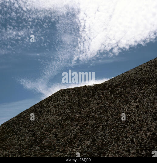 Mexico, View of pyramid - Stock Image
