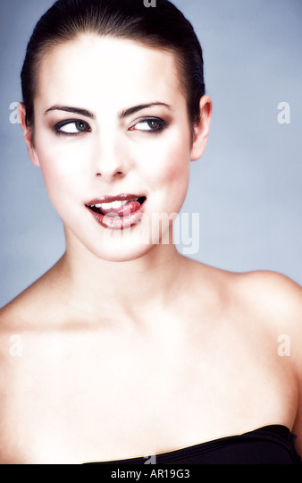 Lick Lips Stock Photos & Lick Lips Stock Images - Alamy