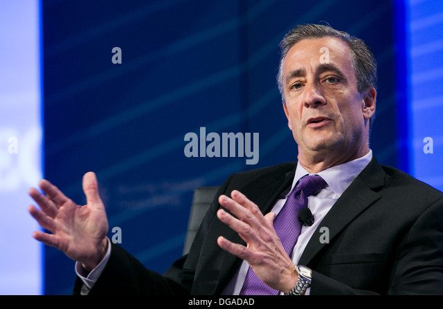 David P. Steiner, Chief Executive Officer of Waste Management, Inc.  - Stock Image