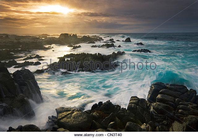 Coast, Monterey, California - Stock-Bilder