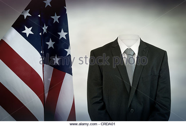 american president - Stock Image