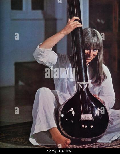 The Guru, USA/Indien 1969, Regie: James Ivory, Darsteller: Rita Tushingham - Stock-Bilder