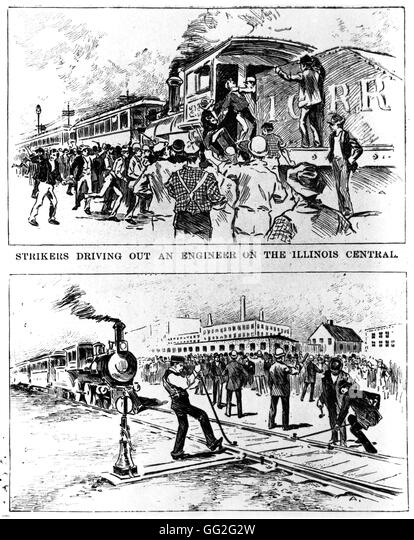 An analysis of the pullman strike of 1894 in the united states of america
