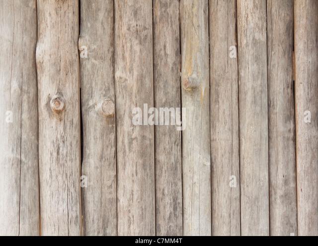 Wood wall background of Thai rural house - Stock-Bilder