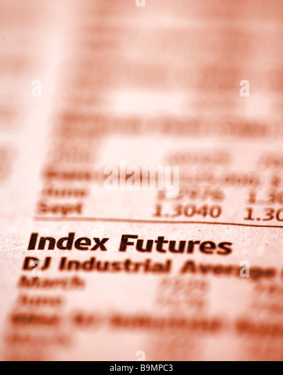 Use index futures in a sentence
