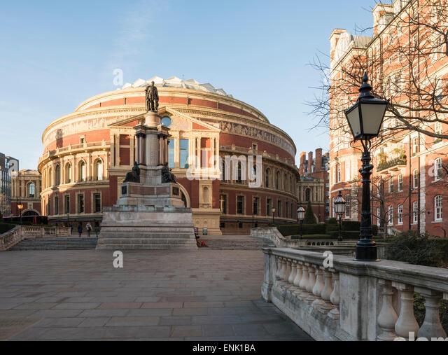 Exterior of the Royal Albert Hall, Kensington, London, England, United Kingdom, Europe - Stock Image