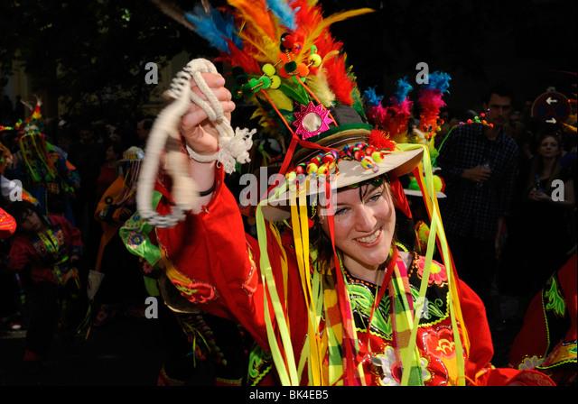 Karneval der Kulturen, Carnival of Cultures, famous annual street parade on Whitsun, Kreuzberg district, Berlin, - Stock-Bilder