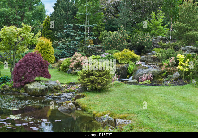 Bahaa stock photos bahaa stock images alamy for Garden design yorkshire