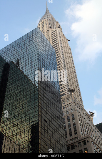 Chrysler Building, Manhattan New York - Stock Image