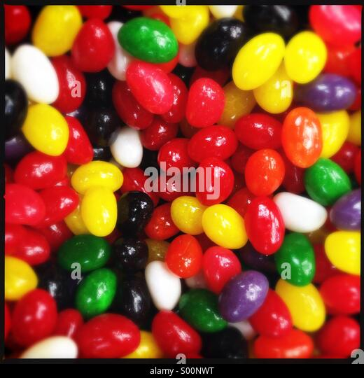Pile of candies - Stock Image