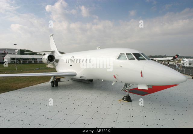 Corporate jet - Stock Image