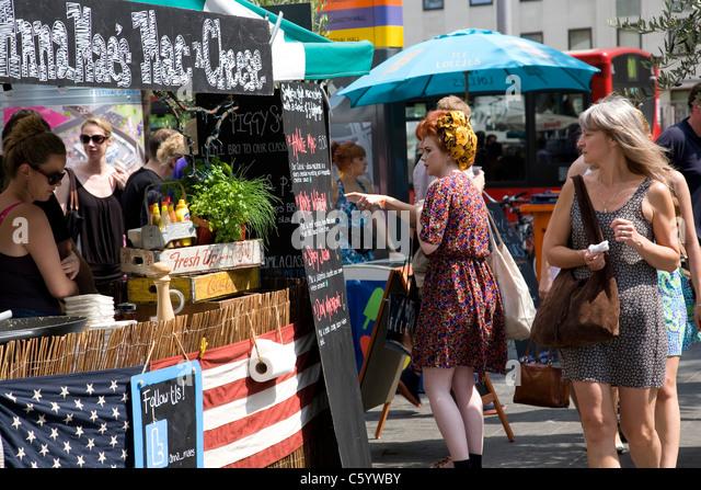 Food Market During Brighton Fringe