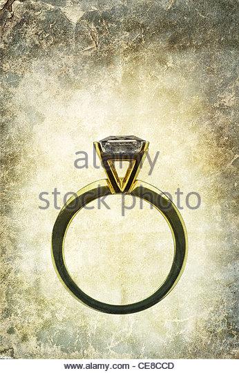 antique wedding ring - Stock-Bilder