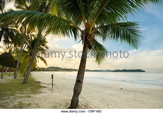 Pantai Cenang, Pulau Langkawi, Malaysia - Stock Image