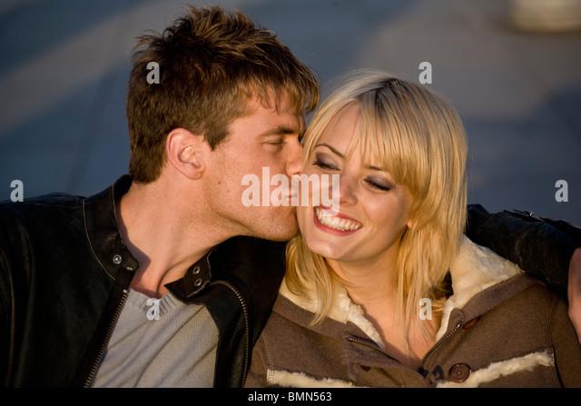 City life romance - Stock Image