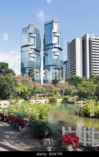 Hong Kong Central District - Stock Image
