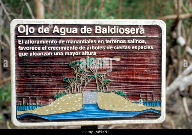 Mexico mx yucatan Ria Celestun Biosphere Reserve - Stock Image