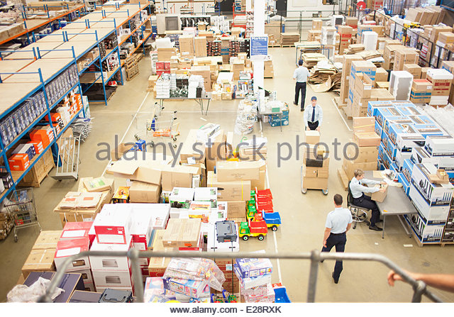 Shipping department - Stock-Bilder