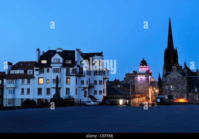 Camera obscura edinburgh stock photos camera obscura for Garden offices for sale scotland